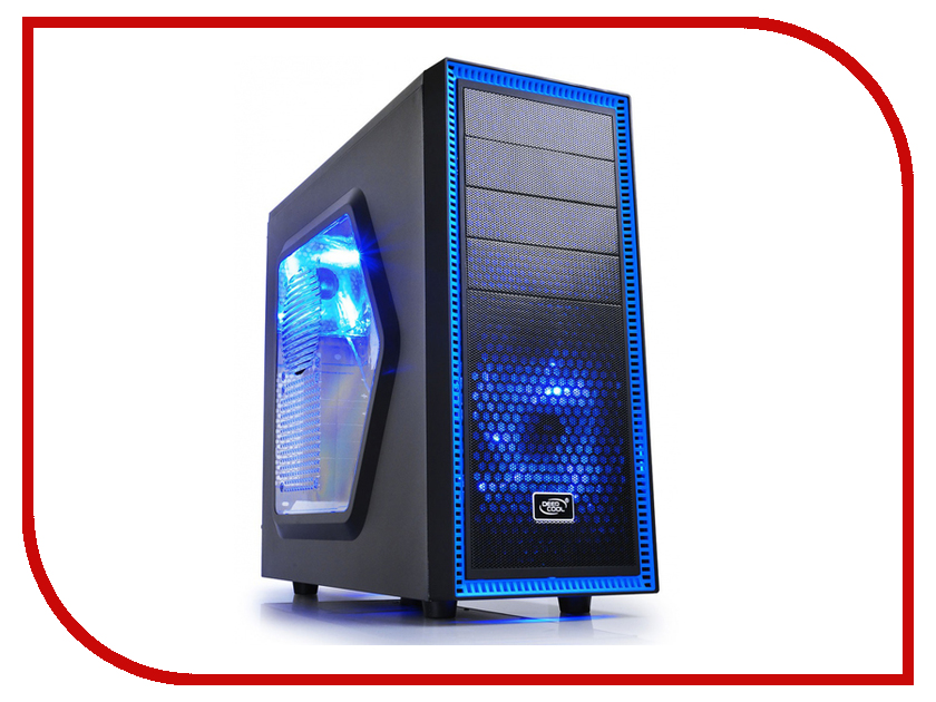 Корпус DeepCool Tesseract SW Black