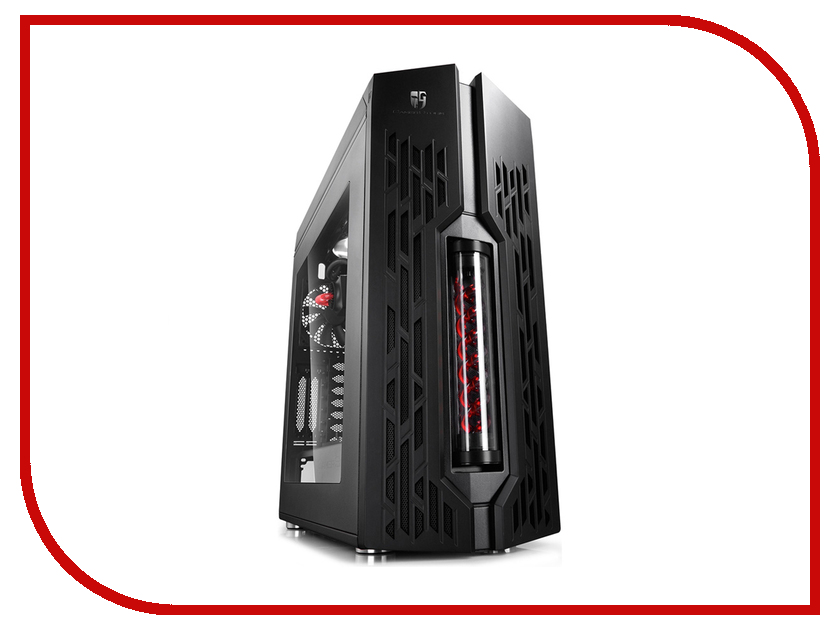 Корпус DeepCool Genome II Black-Red the mitochondrial genome historical aspects