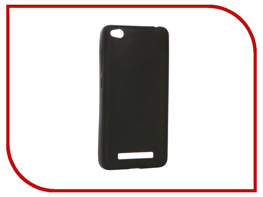 Аксессуар Чехол Xiaomi Redmi 4A Zibelino Soft Matte Black ZSM-XIA-4A-BLK аксессуар чехол lenovo k10 vibe c2 k10a40 zibelino classico black zcl len k10a40 blk