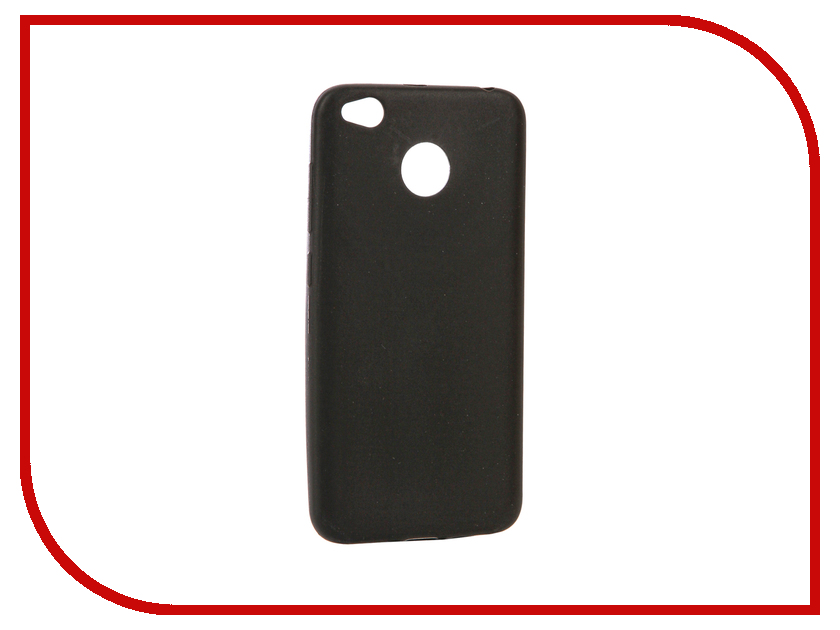 Аксессуар Чехол Xiaomi Redmi 4X Zibelino Soft Matte Black ZSM-XIA-4X-BLK аксессуар чехол huawei p9 lite zibelino soft matte zsm hua p9 lit
