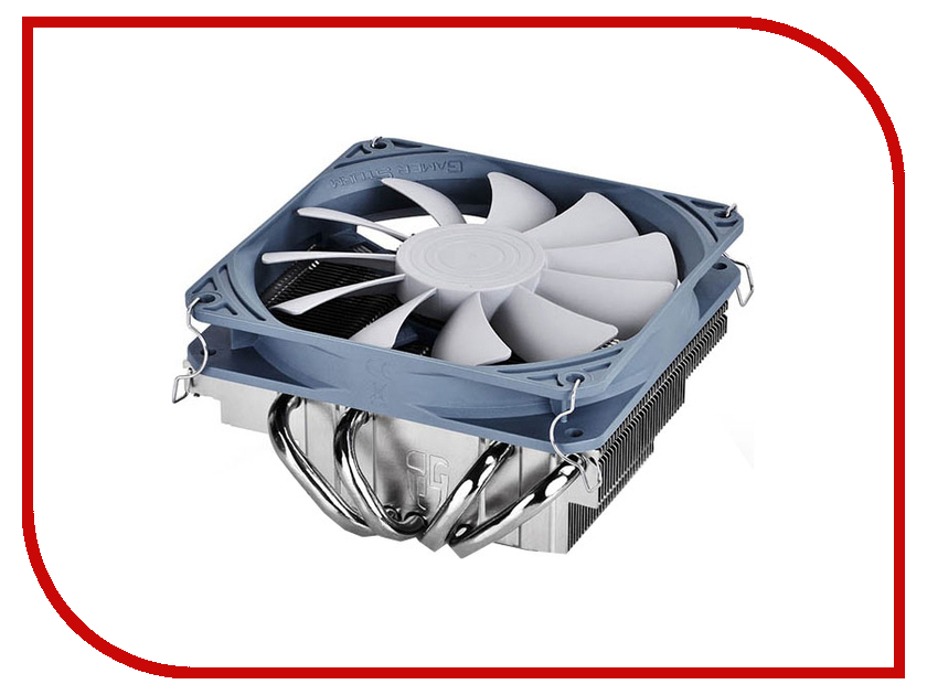 Кулер DeepCool Gabriel DPGS-MCH4N-GR (Intel LGA1156/LGA1155/LGA1150/LGA775/AMD FM2/FM1/AM3+/AM3/AM2+/AM2/940/939/754) deepcool mini cpu cooler 2pcs 8025 fan double heatpipe radiator for intel lga 775 115x for amd 754 940 am2 am3 fm1 fm2 cooling