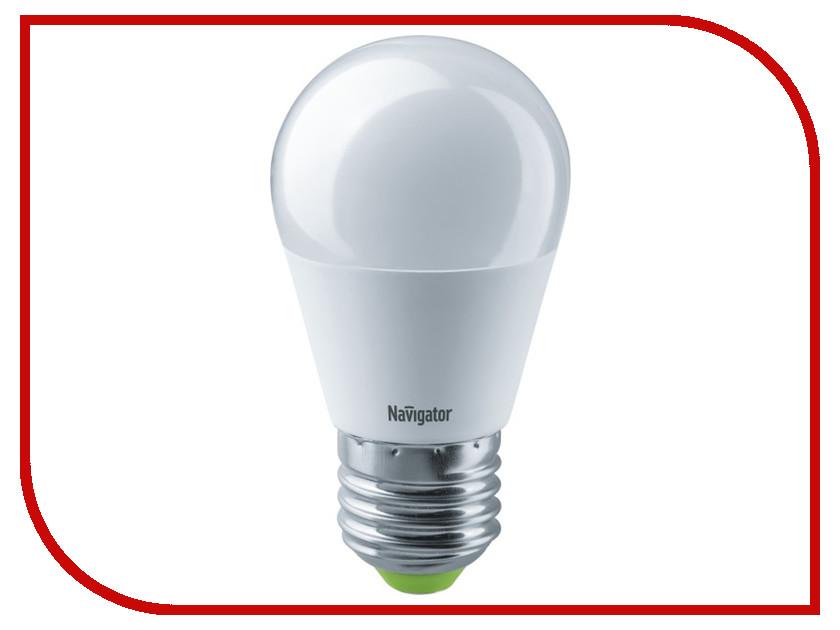 Лампочка Navigator 61 337 NLL-G45-8.5-230-4K-E27 лампочка navigator 71 295 nll g45 5 230 2 7k e27 cl