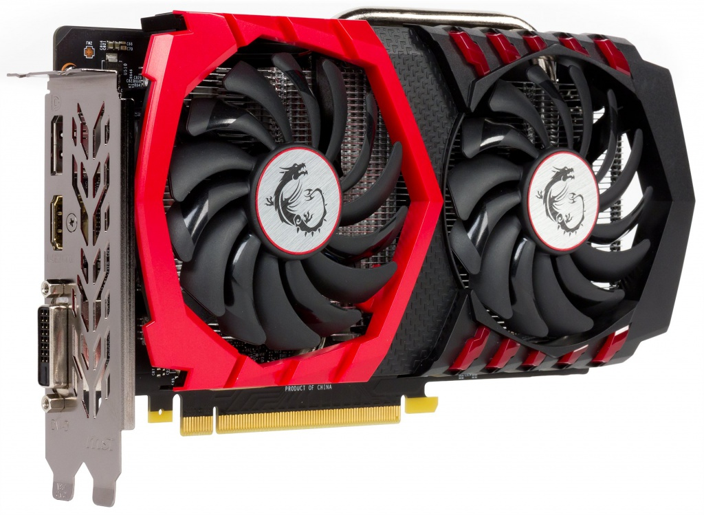 Видеокарта MSI GeForce GTX 1050 Ti 1303Mhz PCI-E 3.0 4096Mb 7008Mhz 128 bit DVI HDMI HDCP GAMING 4G