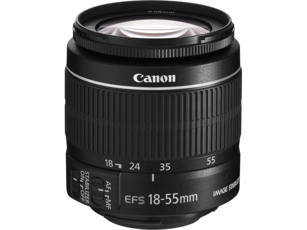 Фото - Объектив Canon EF-S 18-55 mm F/3.5-5.6 IS II ip видеокамера hikvision ds 2cd2f22fwd is 2 8 mm