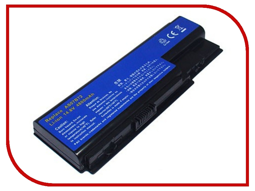 ����������� Acer Aspire 5520/5720/7520 AS07B41 Pitatel 4800/5200 mAh BT-057 / D-NB-943