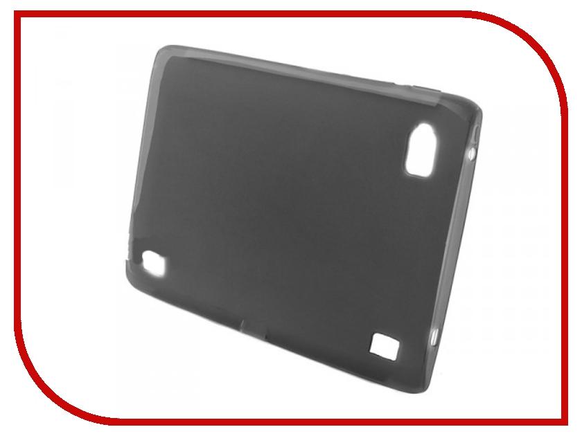 Аксессуар Чехол Iconia Tab A500 Palmexx силиконовый, прозрачный Dark A500bl