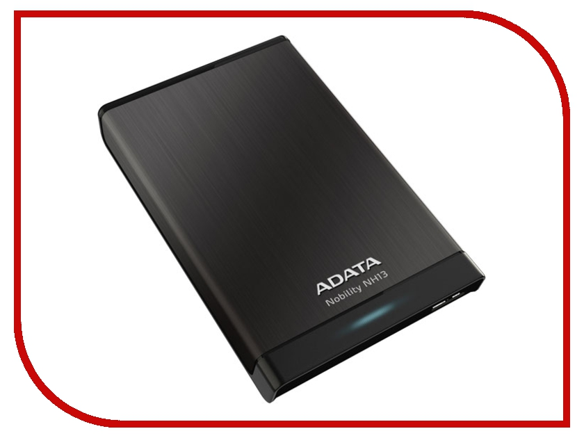 Жесткий диск A-Data Nobility NH13 1Tb USB 3.0 Black ANH13-1TU3-CBK<br>