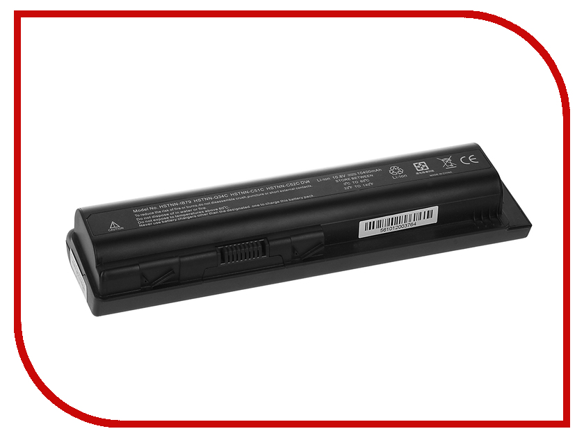 Аккумулятор HP Pavilion DV4/DV5-1000/DV6-1000/DV6-2000, Presario CQ40/CQ45/CQ50/CQ60/CQ61/CQ70/CQ71 Pitatel - усиленный! 95 Wh BT-474 / D-NB-526
