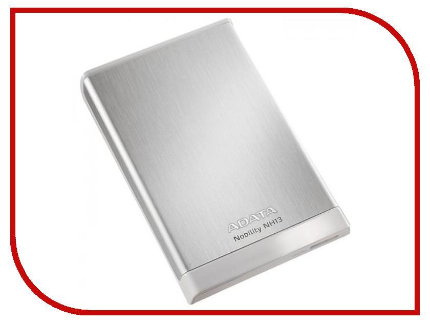 Жесткий диск A-Data Nobility NH13 1Tb USB 3.0 Silver ANH13-1TU3-CSV<br>