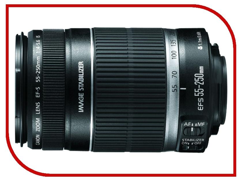 Объектив Canon EF-S 55-250 mm F/4-5.6 IS II<br>