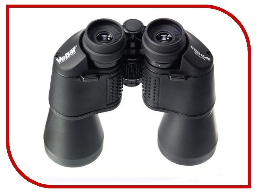 Бинокль Veber Classic БПШЦ 15x50 VRWA black<br>