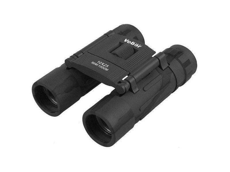 все цены на Бинокль Veber Sport БН 10x25 Binoculars Black онлайн