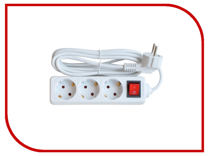 Сетевой фильтр IN HOME 3GS-3-SMART 3m 8433 / 4690612010373