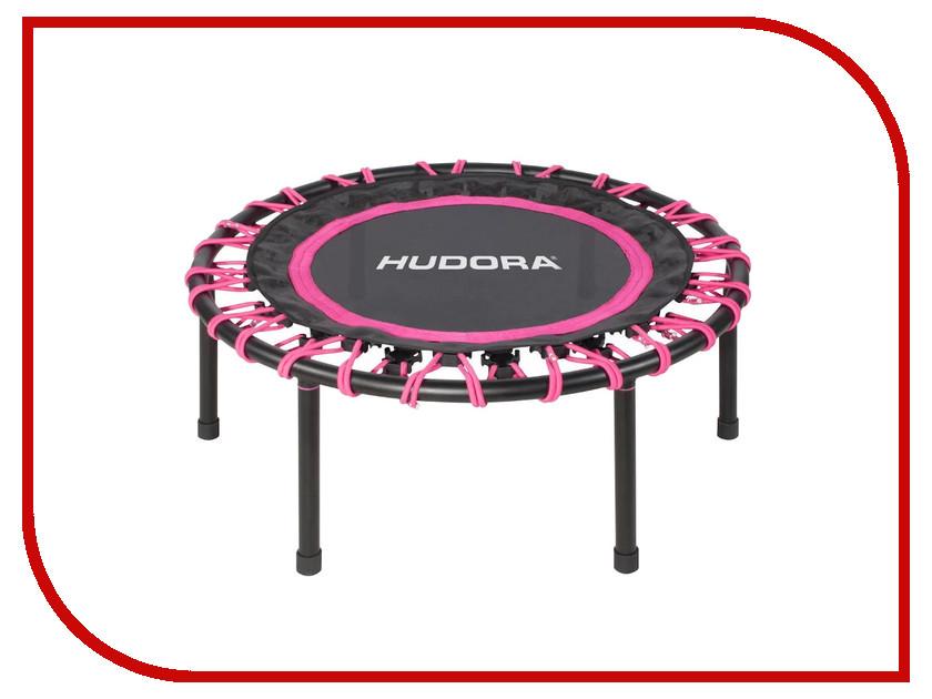 Батут Hudora Trampolin Sky 91cm Black-Pink 65420 hudora футбольные ворота foldable soccergoal hudora