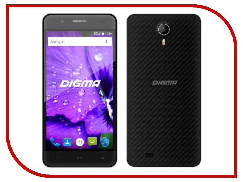 Сотовый телефон Digma Linx A450 3G Black навигатор digma alldrive 500 black
