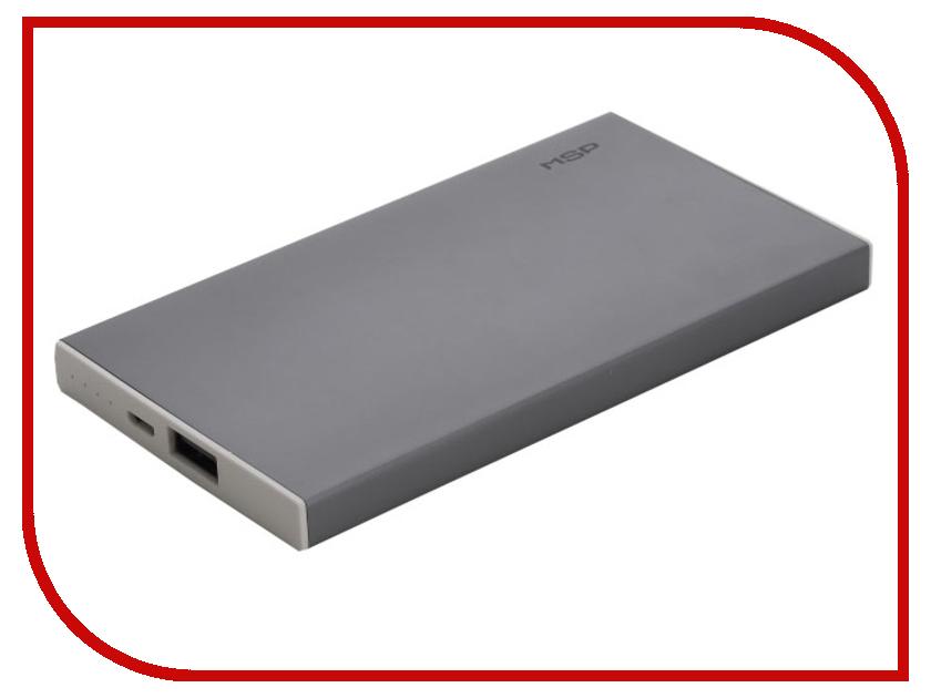 Аккумулятор MSP Boss 1xUSB 5000 mAh Grey 90655<br>