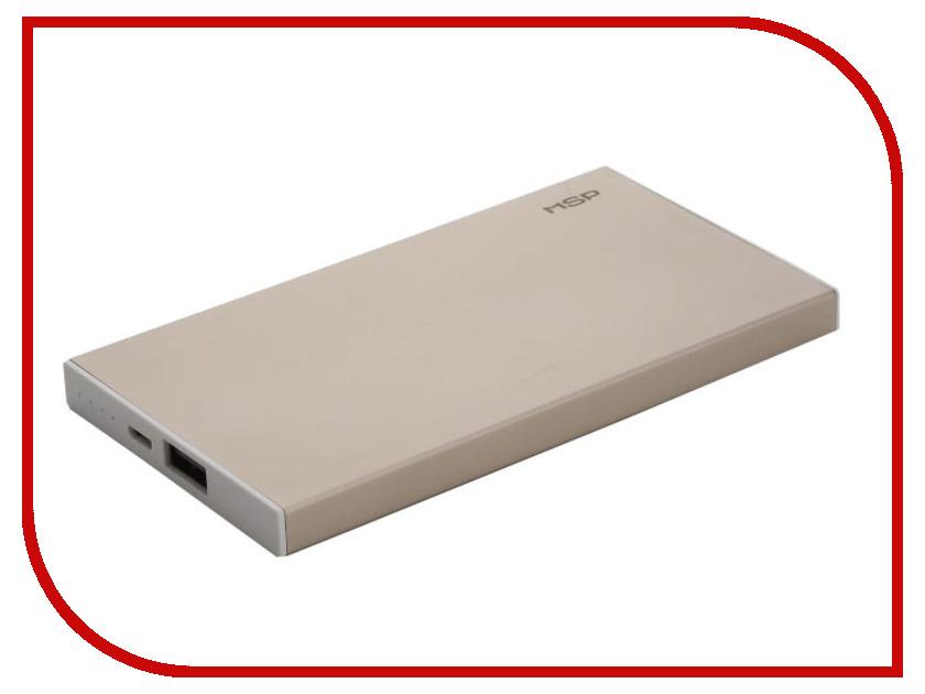 Аккумулятор MSP Boss 1xUSB 5000 mAh Gold 90662