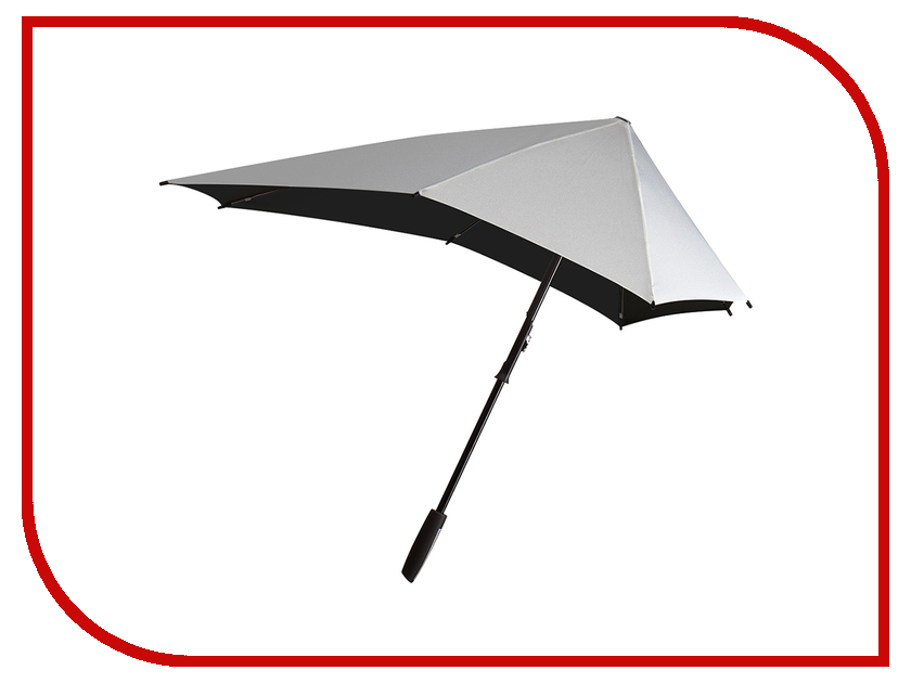Зонт Senz Smart XL Shiny Silver 3111003