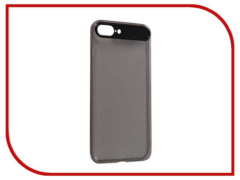 Аксессуар Чехол Rock Space Ace для iPhone 7 Plus Transparent-Black 76468