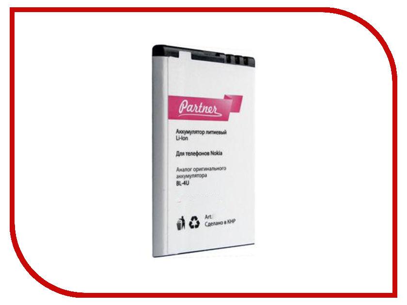 Аккумулятор Nokia BL-4U Partner 1110mAh ПР024639 стоимость