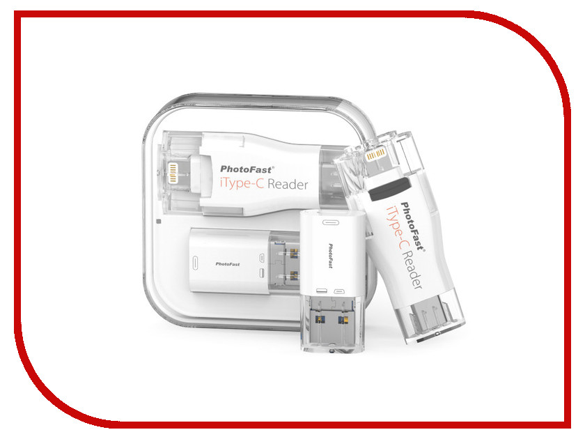 Карт-ридер PhotoFast iType-C Reader ITCREADER16GB i flashdrive max 3 0 photofast