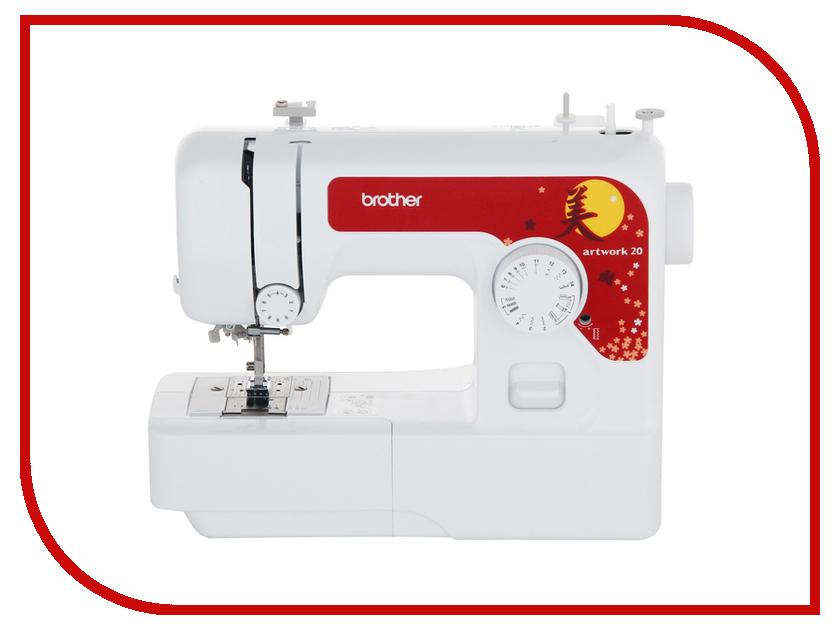 Швейная машинка Brother Artwork 20 швейная машинка astralux 7350 pro series вышивальный блок ems700