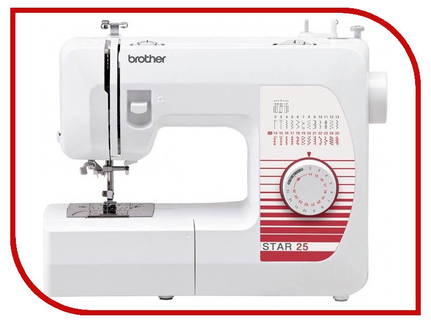 Швейная машинка Brother Star 25 швейная машинка astralux 7350 pro series вышивальный блок ems700