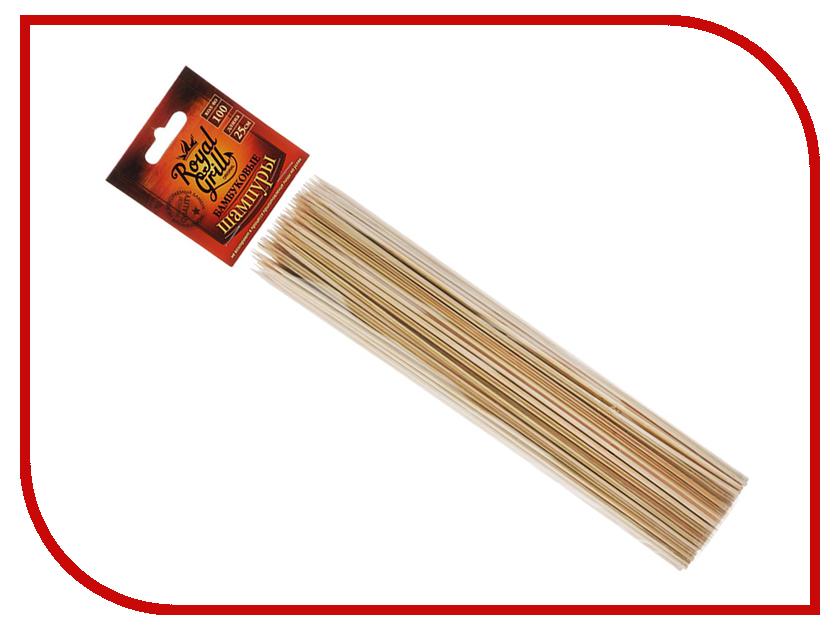 Шампуры RoyalGrill Бамбуковые 100шт 80-055