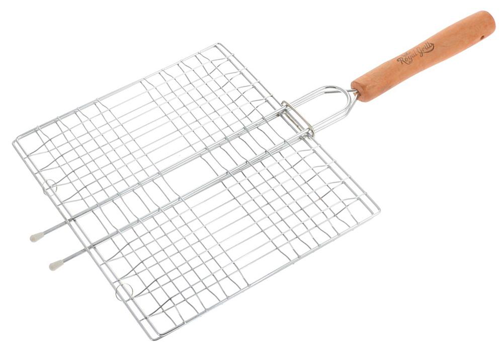 Решетка-гриль RoyalGrill 80-017 решетка гриль royalgrill 4 секции 23 х 20 см