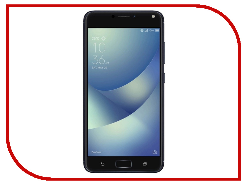 Сотовый телефон ASUS ZenFone 4 Max ZC554KL 16Gb Black asus zenfone zoom zx551ml 128gb 2016 black