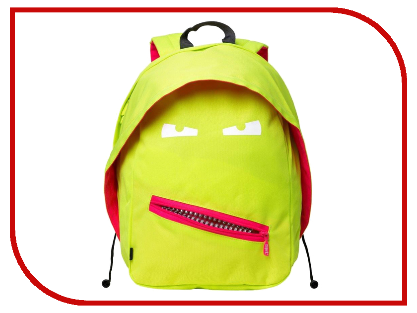 Рюкзак Zipit Grillz Backpacks lime ZBPL-GR-3