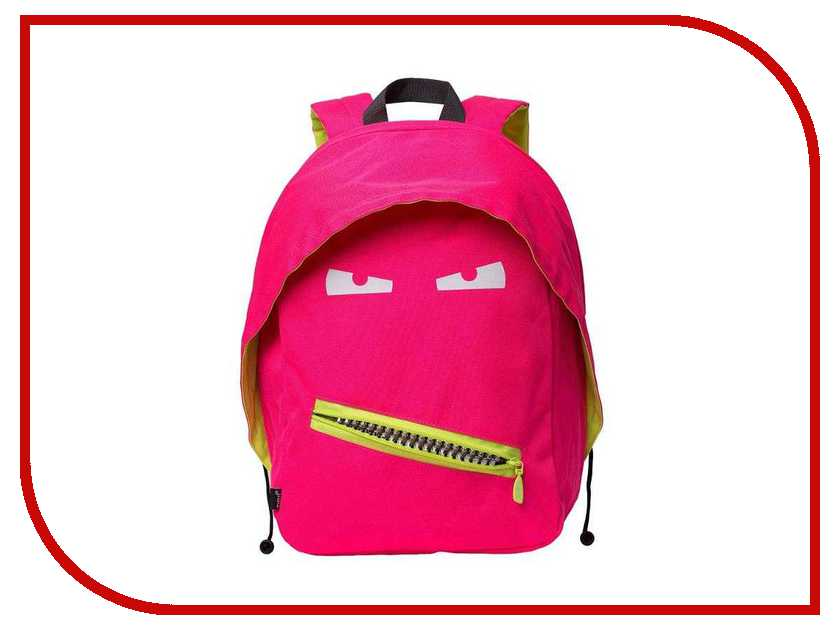 Рюкзак Zipit Grillz Backpacks Pink-Neon ZBPL-GR-4