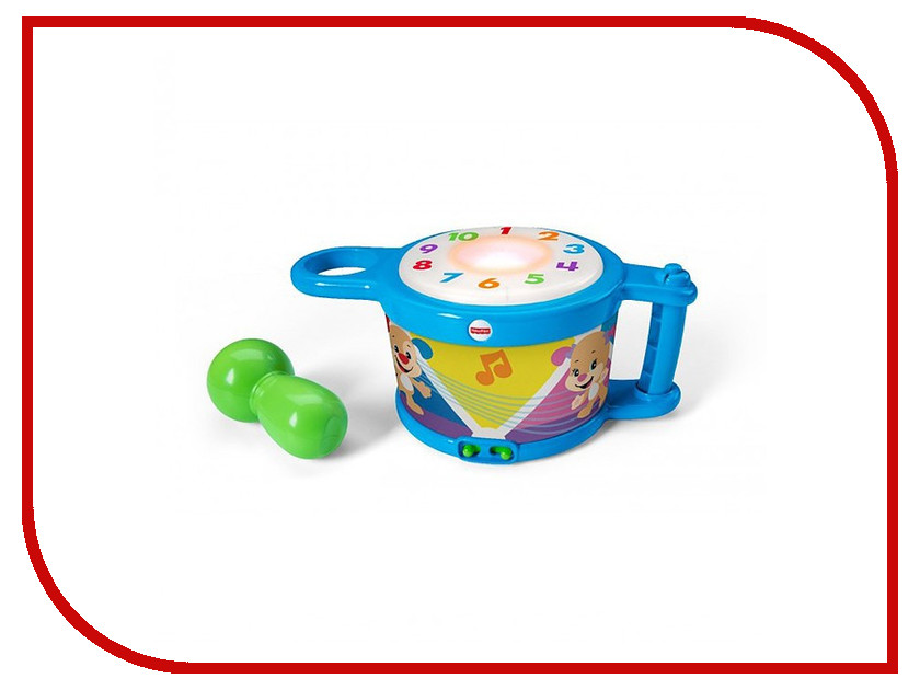 Детский музыкальный инструмент Fisher-Price Барабан DRB22