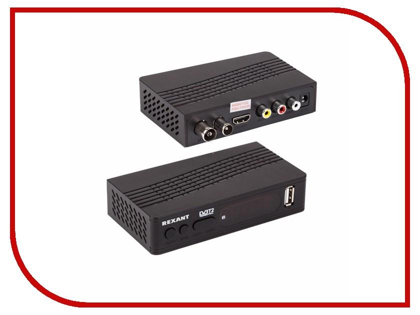 Медиаплеер Rexant DVB-T2 RX-512 35-0012 автономная сигнализация геркон 4шт rexant rx 207 46 0207