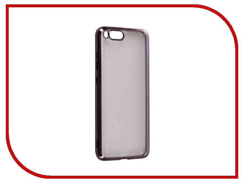 все цены на Аксессуар Чехол Xiaomi Mi6 iBox Blaze Silicone Black frame онлайн
