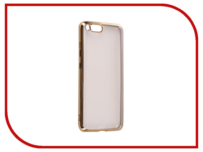 Аксессуар Чехол Xiaomi Mi6 iBox Blaze Silicone Gold frame аксессуар чехол xiaomi redmi 3 3s 3 pro ibox blaze silicone gold frame