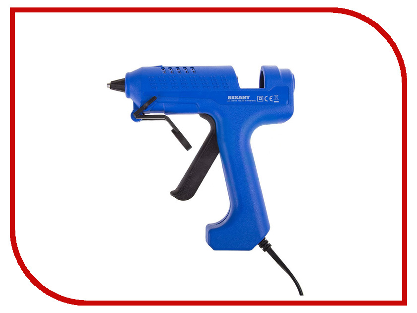 Термоклеевой пистолет Rexant 12-0118 100W термоклеевой пистолет hammer flex gn 06