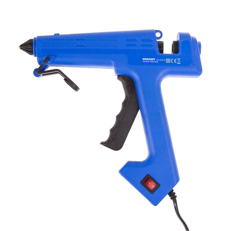 Термоклеевой пистолет Rexant 12-0119 280W