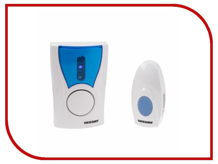 Звонок дверной Rexant RX-6 73-0060 цифровой led 32 мелодия песни беспроводной дверной звонок с дистанционным управлением музыкальные номера