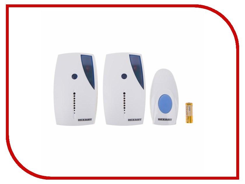 Звонок дверной Rexant RX-5 73-0050 цифровой led 32 мелодия песни беспроводной дверной звонок с дистанционным управлением музыкальные номера