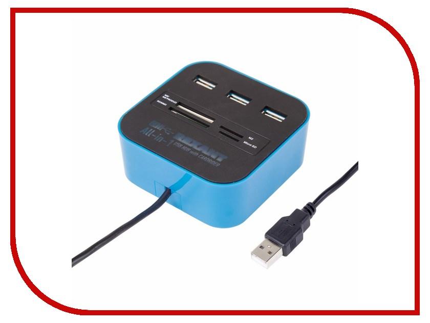 Хаб USB Rexant 18-4121 3 ports Black