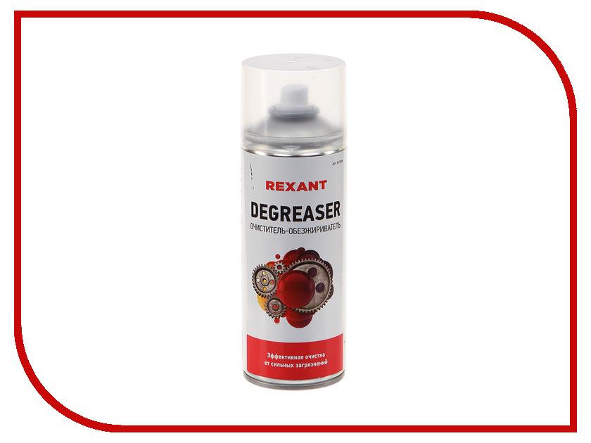 Очиститель и обезжириватель Rexant Degreaser 400ml 85-0006 отмывочная жидкость solins degreaser 400ml от жира и масла аэрозоль