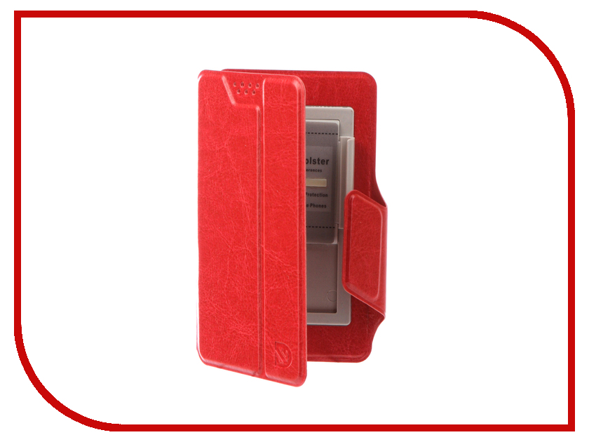 Аксессуар Чехол Dekken S 3.5-4.3-inch универсальный Red 20023