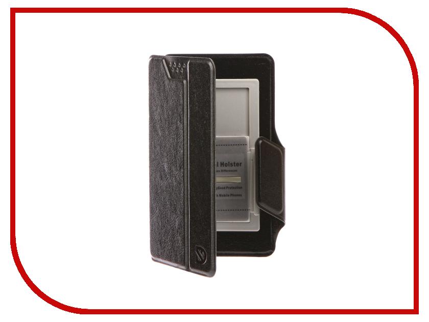 Аксессуар Чехол Dekken S 3.5-4.3-inch универсальный Black 20025 аксессуар чехол книжка norton 5 5 6 inch универсальный на клейкой основе с выдвижным механизмом black