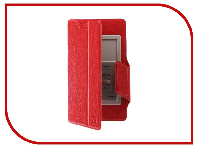Аксессуар Чехол Dekken М 4.4-5.0-inch универсальный Red 20028