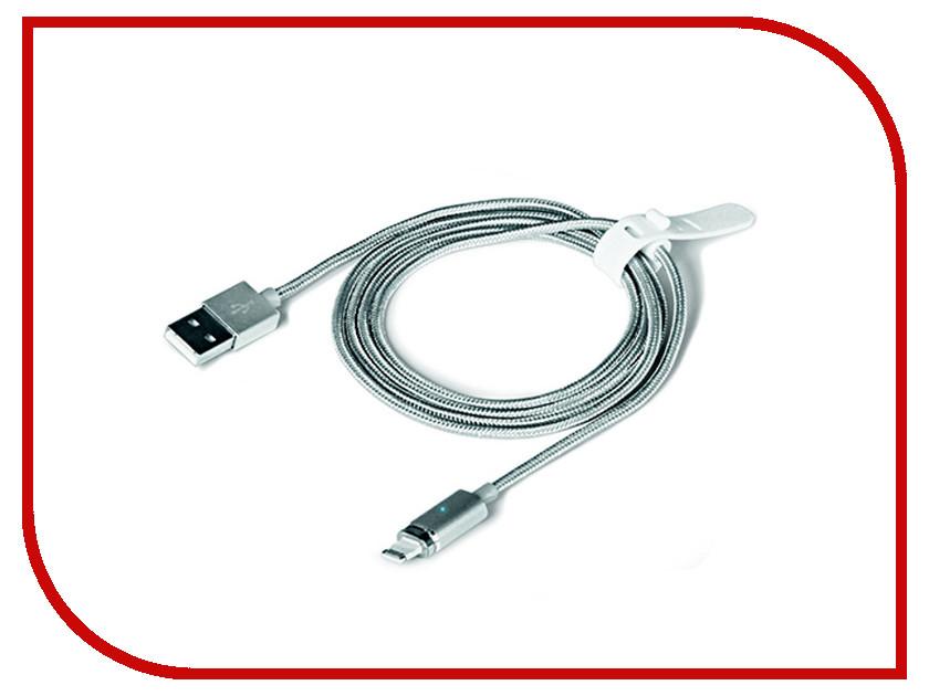 Аксессуар DF 8pin-USB iMagnetCable-01 Silver аксессуар df 30pin usb df imagnet 01 white