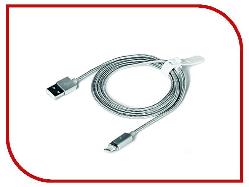 Аксессуар DF 8pin-USB iMagnetCable-02 Silver аксессуар df 30pin usb df imagnet 01 white
