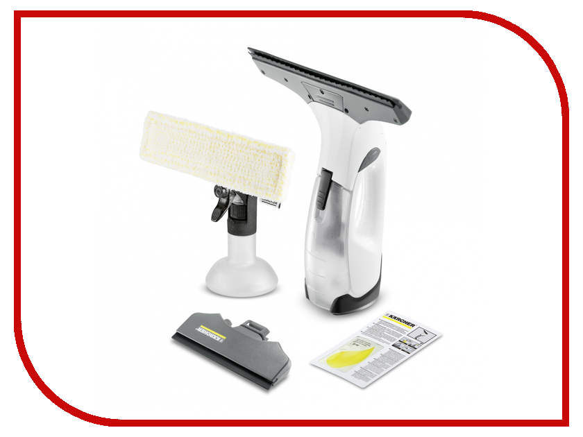 Стеклоочиститель Karcher WV 2 Premium White karcher k7 compact цена