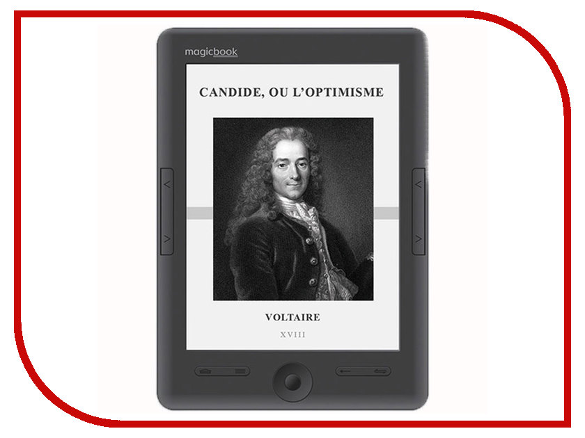 Электронная книга Gmini MagicBook S62LHD