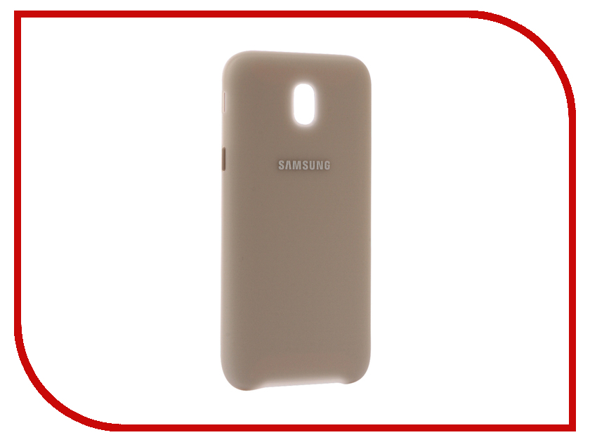 Аксессуар Чехол Samsung Galaxy J5 2017 SM-J530 Layer Cover Gold SAM-EF-PJ530CFEGRU 803 001 514 021 тонкая